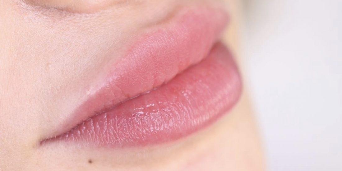 Image of lips after a luxurious time at Brau.