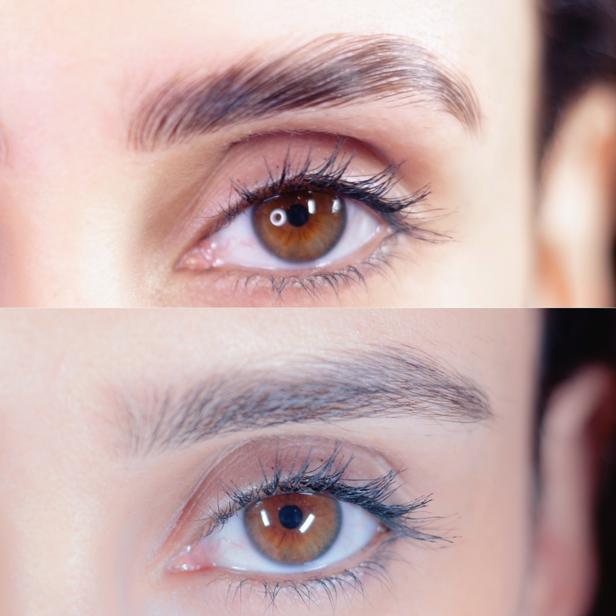 See the difference the eyebrow services here at Brau will make for you.