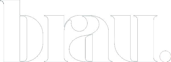 Brau Microbladers in Dubai Logo in white