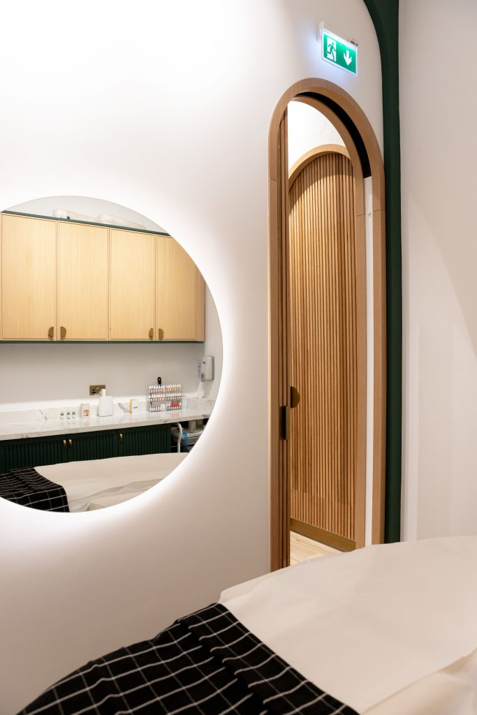 Another stunning image of a treatment room inside Brau in Dubai